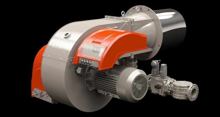 Nuovo bruciatore industriale TBG 2000 ME