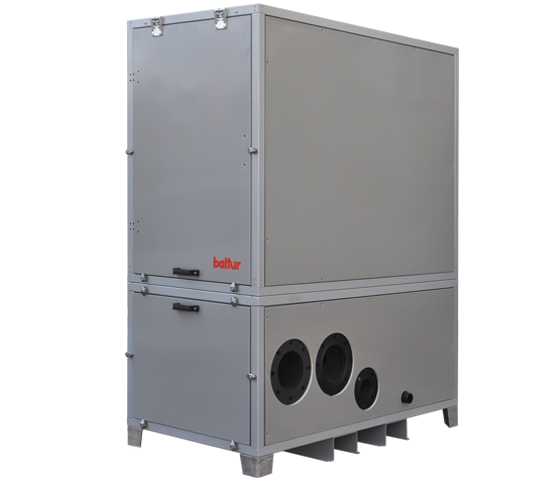 MCS HIDRO. Modular condensation thermal unit with on-board hydronic system