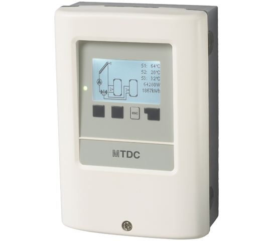 SBTDC. Solar control unit with control and operation management