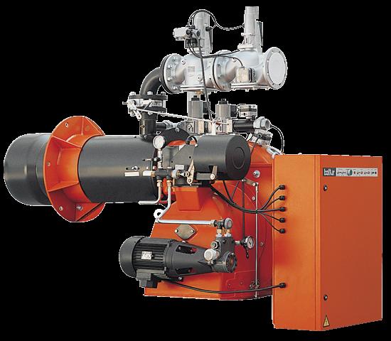 GI MIST DSPGM. 渐进/调制两段油气/燃气混合燃烧器