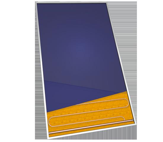 Collettori solari per sistemi a circolazione forzata - Etasun