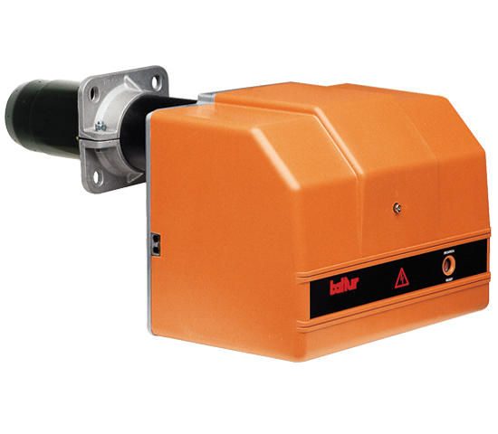 SPARK LX. Two-stage light oil burners with low polluting emissions (class 3).