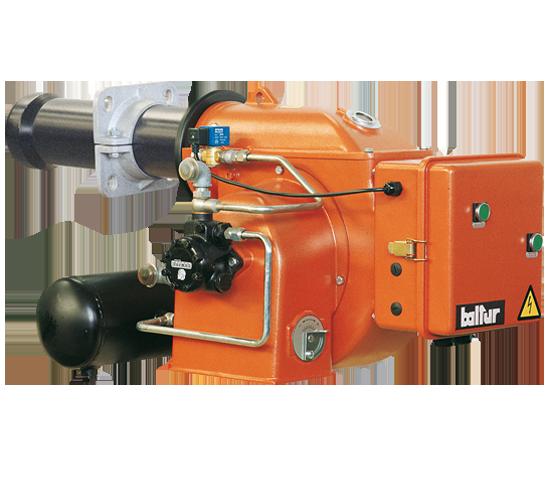 BT N. Single-stage heavy oil burners.