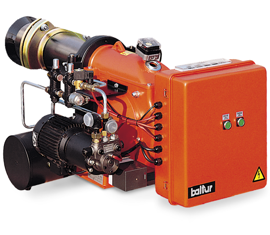 BT DSNM-D. 重质双段式燃油燃烧器。