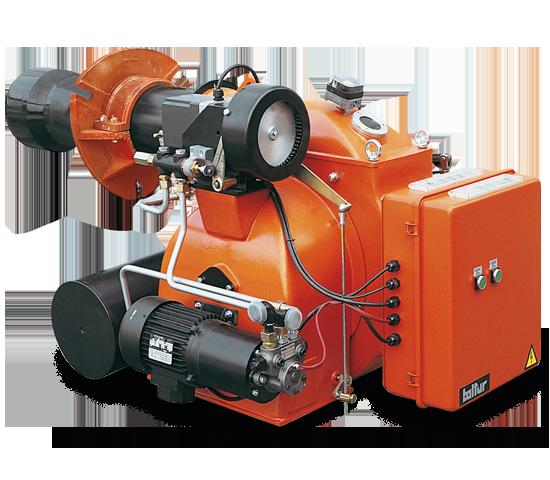 BT DSPN. Quemadores de aceite combustible de dos etapas progresivas/modulantes.