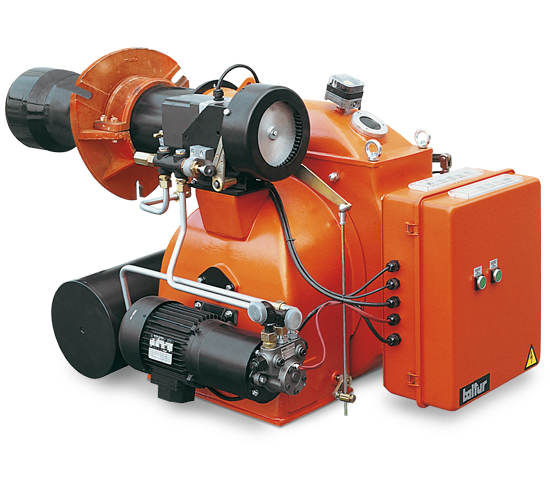 BT DSPN. Progressive/modulating two stage fuel oil burners.