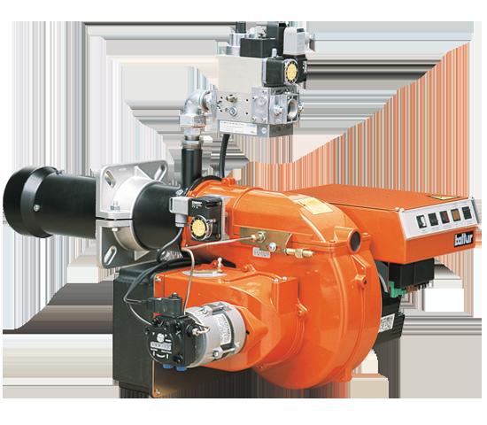 COMIST. 双段式燃气/油气混合燃烧器。