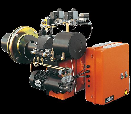 COMIST DSPGM. Quemadores mixtos de gas/gasóleo de dos etapas progresivos/modulantes.
