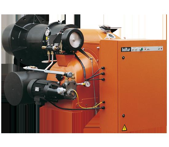 GI DSPN-D. Quemadores de aceite combustible denso de dos etapas progresivas/modulantes.