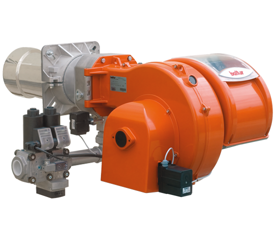TBG LX ME V O2. Progressive/modulating two-stage gas burners with low polluting emissions with electronic cam.